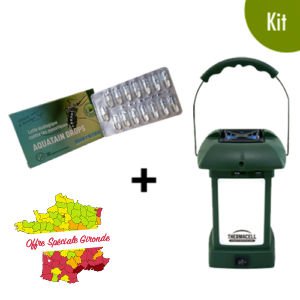 kit de solutions anti-moustique extérieurs